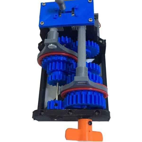 enginediy Engine Models 3D Printed Manual Transmission Model Physics Experiment Teaching Model Educational Toy