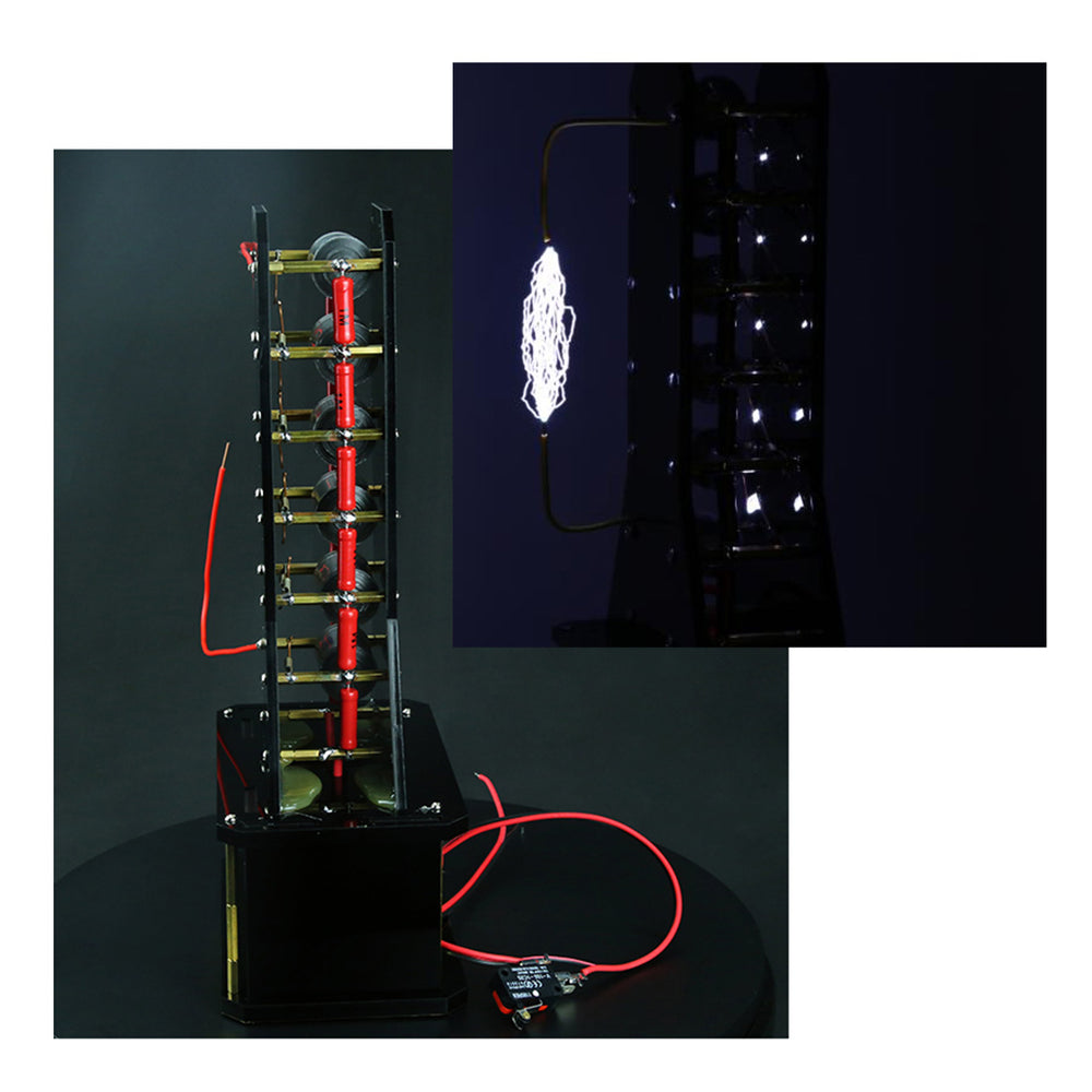 STARK Level 6 High Voltage Marx Generator DIY Lightning Educational Model - enginediy