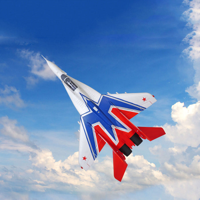 Twin 64mm MiG-29 EDF Fighter RC Plane Electric Airplanes Model Assembly Fixed-wing Aircraft - PNP