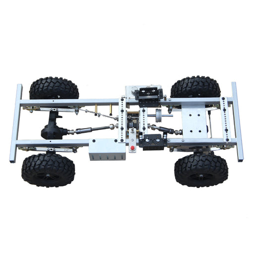 1: 10 Car Frame for TOYAN FS-L200 Inline 2-cylinder 4-Stroke Engine DIY Gas Power RC Car Model