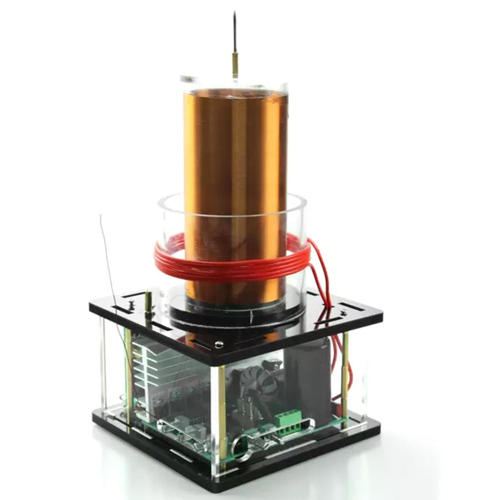 Large Solid-state Music Tesla Coil with 220V to 110V Transformer