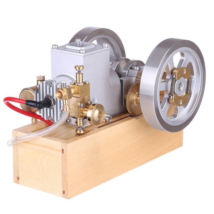 M94 Upgraded Horizontal Water Cooled Gasoline Hit & Miss Gasoline Combustion Engine Complete Engine with Hand Starter - enginediy