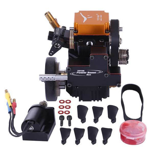 Toyan FS-S100G 4 Stroke RC Engine Four Stroke  Gasoline Engine Kit for RC Car Boat Plane - enginediy