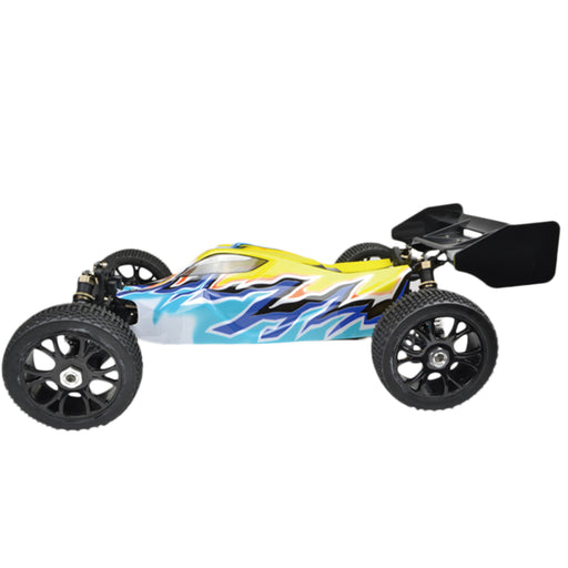 VRX RH816 1/8 Scale 4WD Brushless RTR Off-road Buggy High Speed 2.4GHz RC Car (with 60A ESC, 3650 Motor) - R0236 Yellow Blue - enginediy