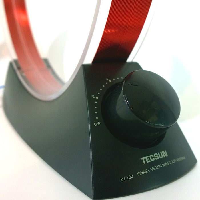 TECSUN Tunable Medium Wave Loop Antenna Electromagnetic Wave Mineral Radio Educational Toy