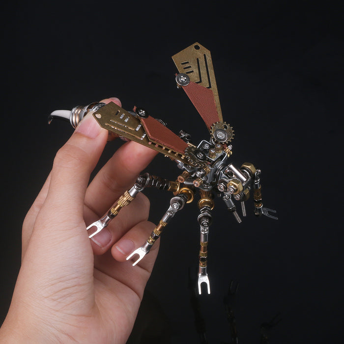 3D Puzzle Model Kit Mechanical Wasp Metal Games DIY Assembly Jigsaw Crafts Creative Gift - 295Pcs - enginediy