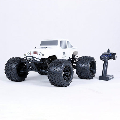 Rovan TORLAND EV4 1/8 Electric 4WD Brushless Vehicle 2.4G RC Pickup Truck with Battery and Charger - enginediy