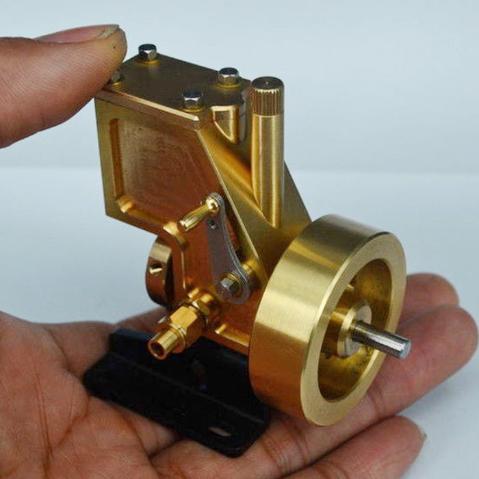 Mini Steam Engine Model Without Boiler | Creative Gift Set
