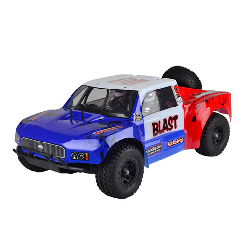 VRX RH1008 1/10 Scale 4WD Short Course Truck 18CXP Nitro 2.4G High Speed RC Car - RTR Version - enginediy