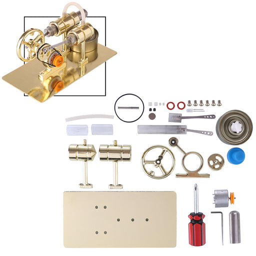 Stirling Engine Generator Model DIY Assembly Kit Physical Experiment - enginediy