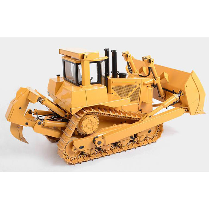 JDMODEL JDM-98 1/14 9CH All-Metal RC Hydraulic Bulldozer Remote Control Construction Vehicle Model - enginediy