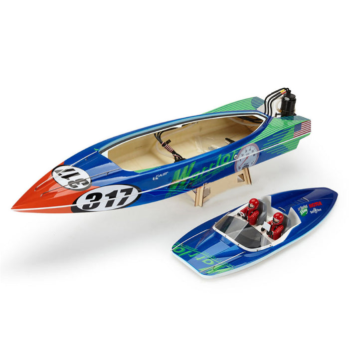 TFL 1148 V-Shaped O Boat Brushless RC Boat Model with 3660/2070KV Brushless Motor and 120A ESC ARTR Version - enginediy