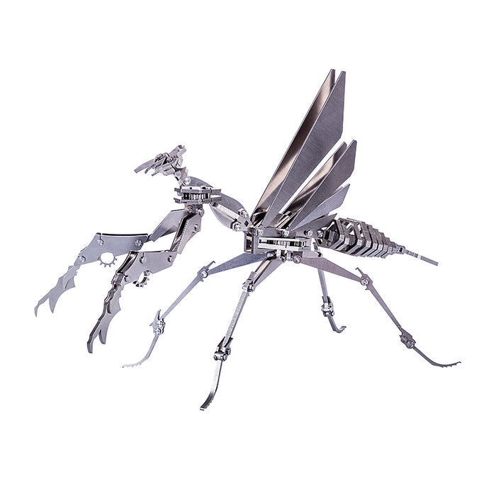 3D Puzzle Model Kit Detachable Mantis Metal Games DIY Assembly Jigsaw Crafts Creative Gift - enginediy