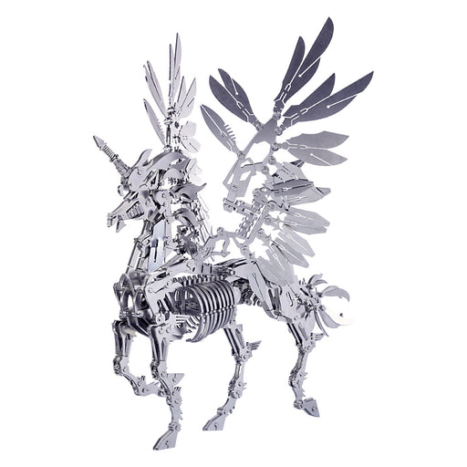 3D Puzzle Model Kit Mechanical Unicorn Metal Games DIY Assembly Jigsaw Crafts Creative Gift