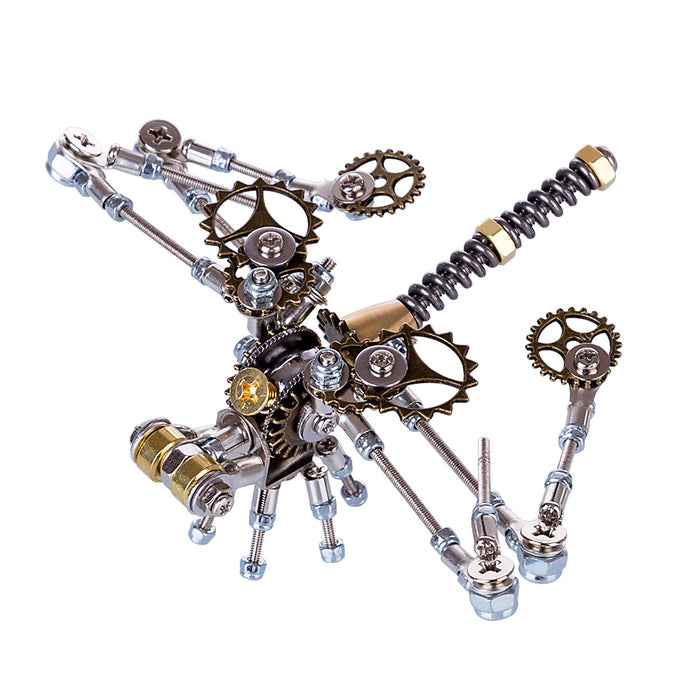 3D Metal Model Kit Mechanical Dragonfly DIY Games Assembly Puzzle Jigsaw Creative Gift - 152Pcs - enginediy