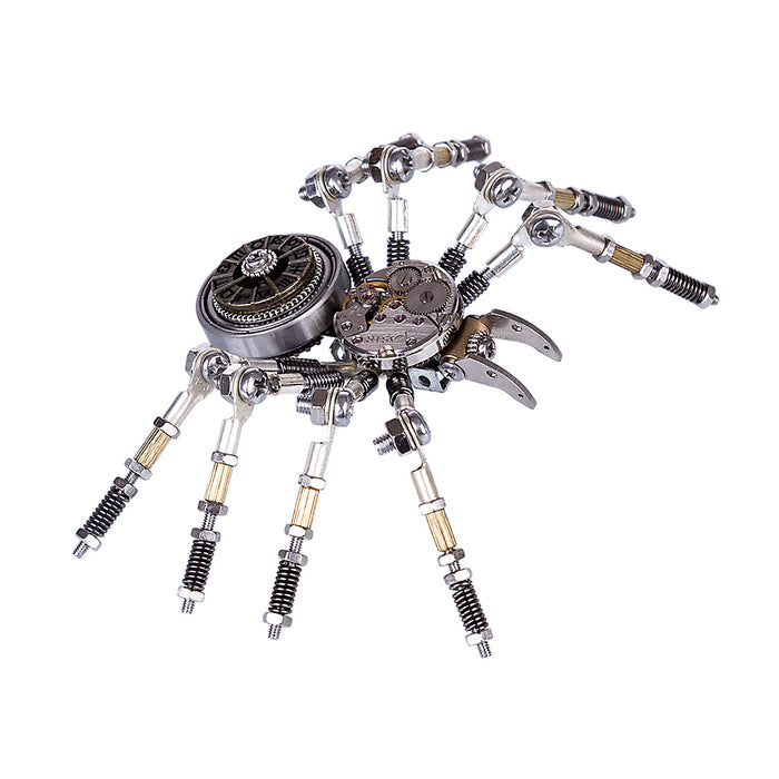 3D Puzzle Model Kit Mechanical Spider Metal Games DIY Assembly Jigsaw Crafts Creative Gift - enginediy