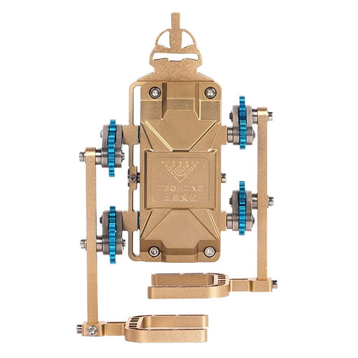 Teching Pedestrian Robot Engine Building Kit Full Metal Collection Gift - Enginediy - enginediy
