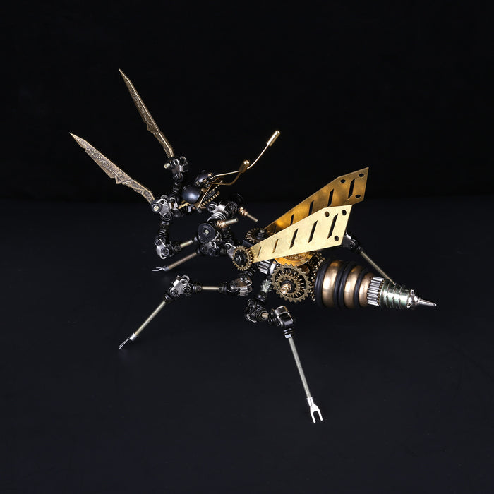 3D Puzzle Model Kit Mechanical Mantis Metal Games DIY Assembly Jigsaw Crafts Creative Gift - enginediy