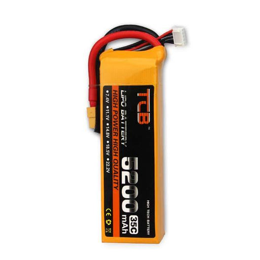 7.4V 5200mAh 2S 35C Lipo Battery with T Plug for RC Car Truck Airplane Boat Blaster Toyan Engine - enginediy