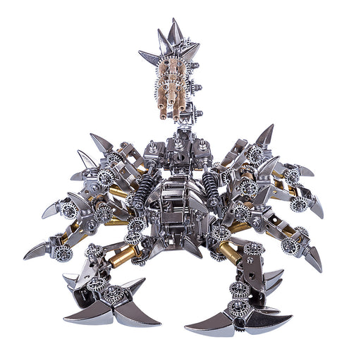 3D Puzzle Model Kit Mechanical  War Scorpion Metal Games DIY Assembly Jigsaw Crafts Creative Gift - enginediy