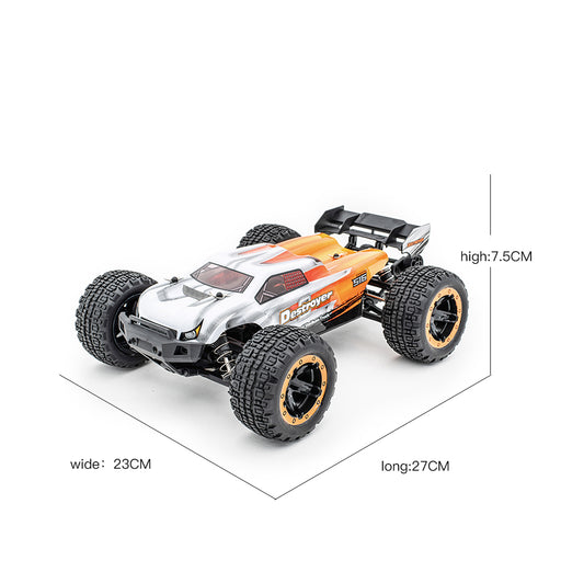 HAIBOXING 16890A 1:16 45KM/H 4WD High Speed Electric Vehicle 2.4 GHz All-Terrain RC Car Brushless Waterproof Off-Road Truck (RTR) - enginediy