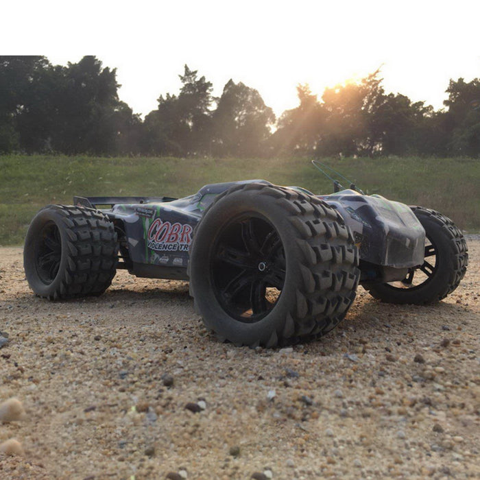 VRX RH818 1/8 Scale 4WD Brushless Off-road Racing Truck High Speed 2.4G RC Car with 60A ESC and 3660 Motor - R0249 RTR Version - enginediy