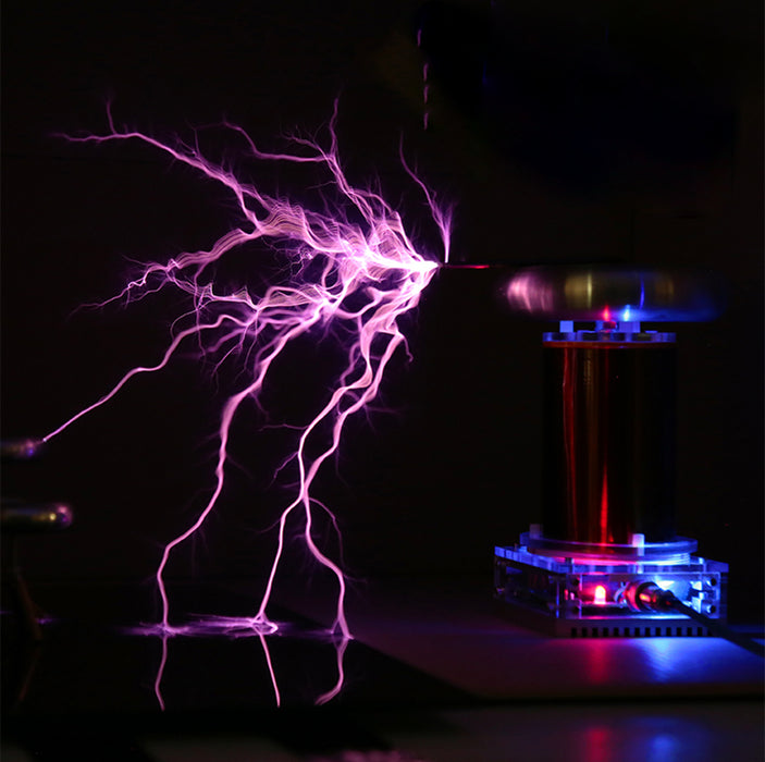STARK SSTC Music Tesla Coil Integrated Arc Extinguishine Tesla Teaching Model High-tech Toy - enginediy