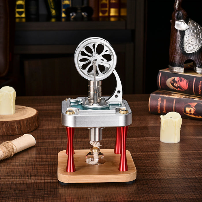 Water Cooled High Temperature Stirling Engine Model Metal Science Experiment Engine - enginediy