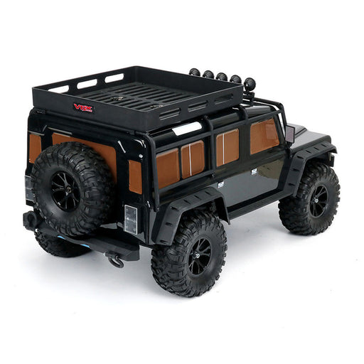 VRX RH1047 1/10 Scale 4WD Brushed Off-road Truck 2.4G RC Car - R0256B RTR Version - enginediy