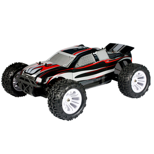 VRX RH1011 1/10 Scale 4WD Brushed RTR Monster Turck 2.4GHz RC Car with 400A ESC, 550 Motor - enginediy