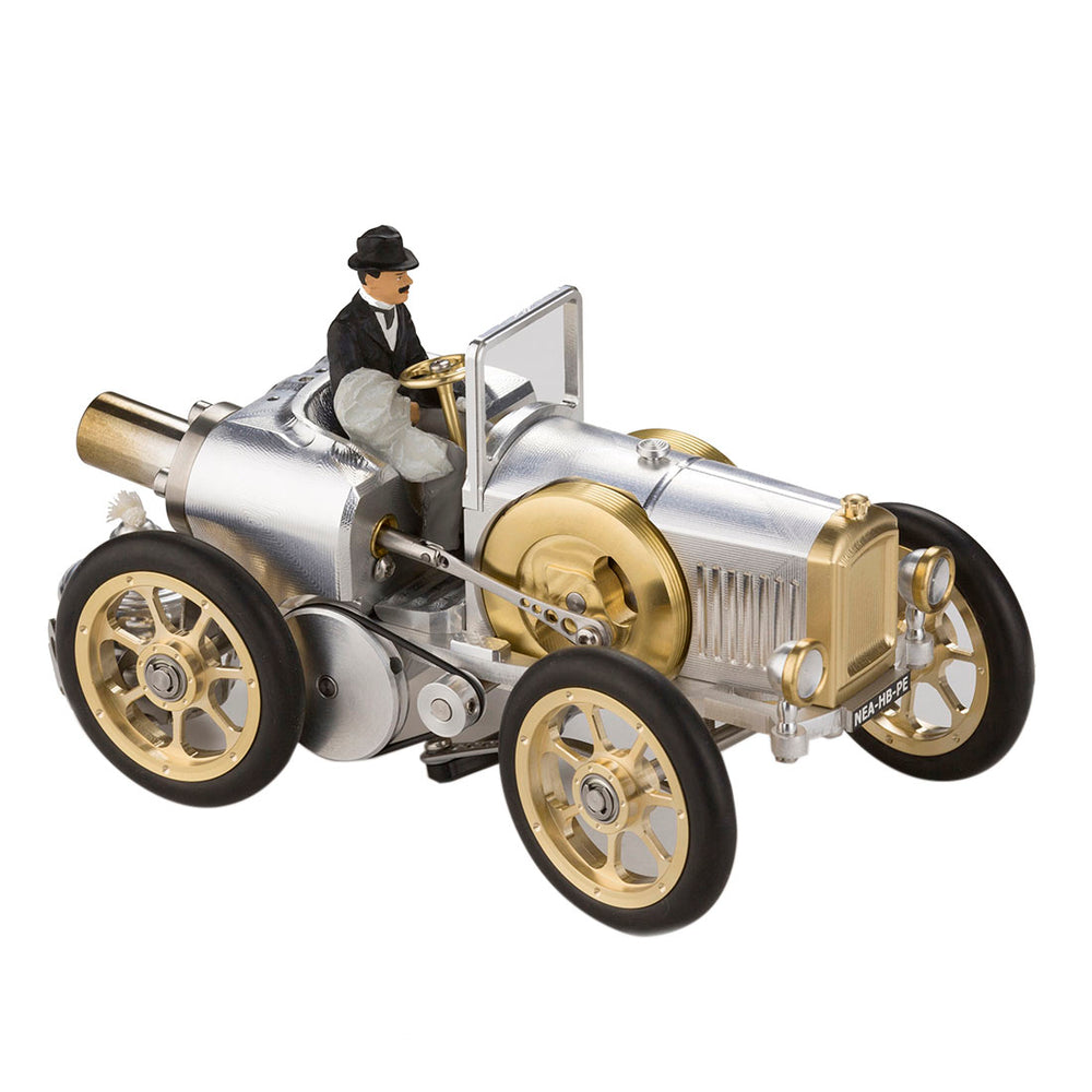 Stirling Engine DIY Assembly Kit Linkage Device Runnable Sports Car Model Metal Mechanical Crafts Gift Collection