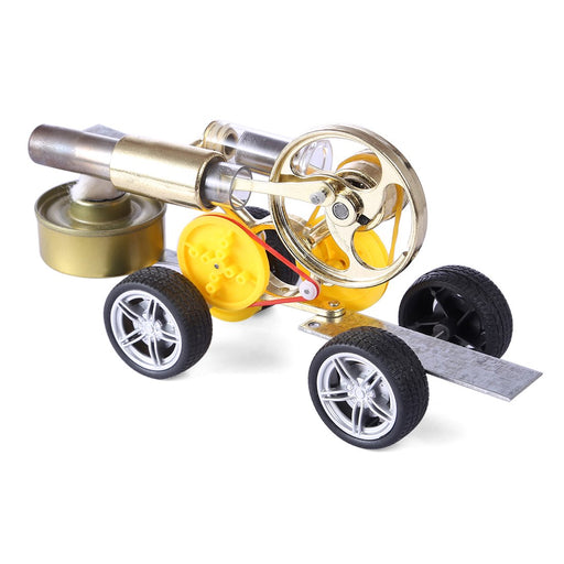 enginediy Engine Models Stirling Engine Motor Driving Car Model Educational Toy
