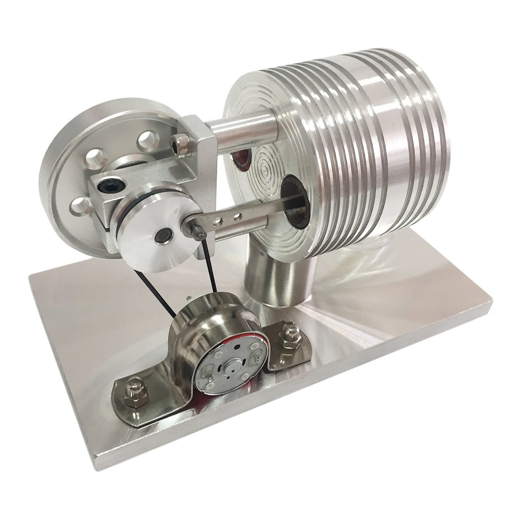 enginediy Stirling Engine with LED Stirling Engine with Generator External Combustion Engine Model Toy