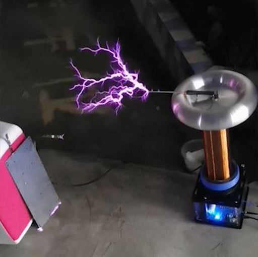 Musical Tesla Coil Singing Plasma Arc Speaker Zeusaphone Thoramin Wireless Transmission Experiment Desktop Toy Model - enginediy
