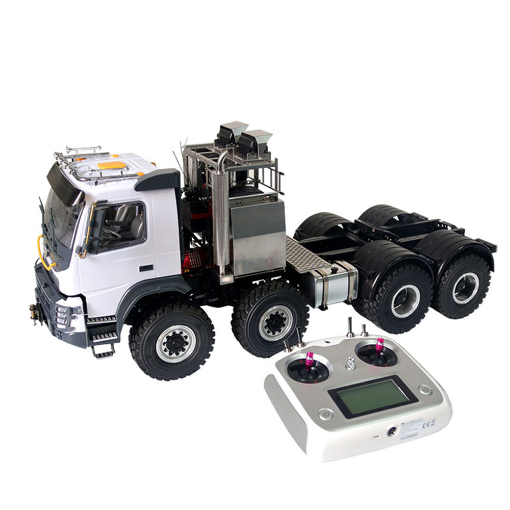 JDMODEL JDM-136 1/14 8x8 Electric RC Off-road Truck Crawler Vehicle Heavy Trailer Truck Remote Control Construction Vehicle Model - enginediy