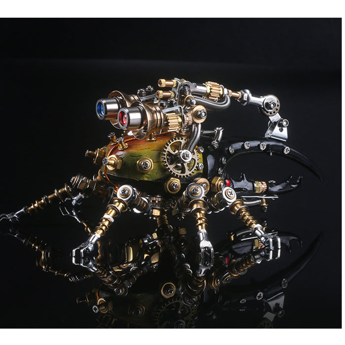 3D Puzzle Model Kit Mechanical Dynastes Metal Games DIY Assembly Jigsaw Crafts Creative Gift - 417Pcs