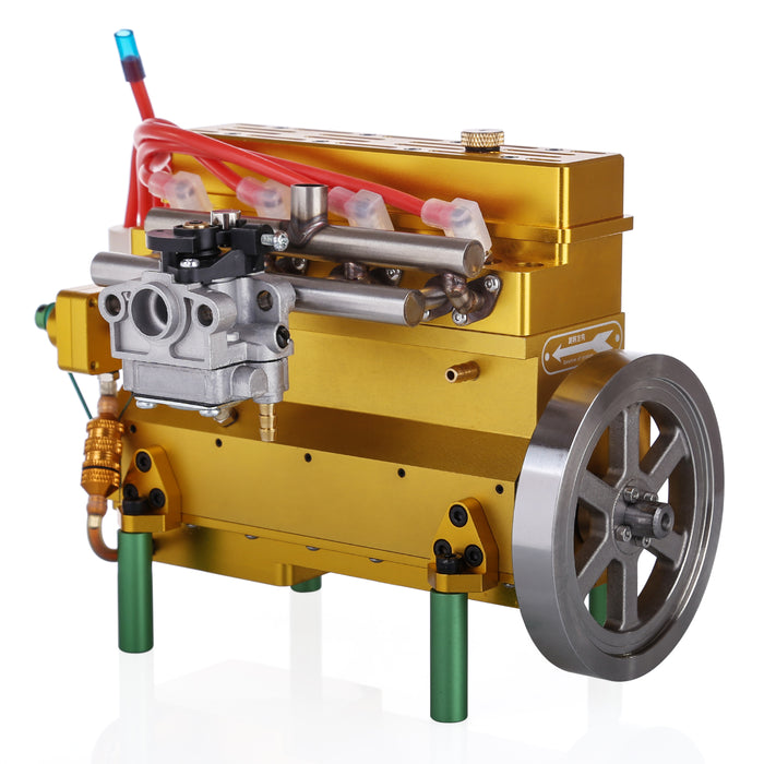 32cc Inline Four Cylinder Water Cooled Gasoline Engine for 1: 5 RC Model Car / Ship/ Airplane
