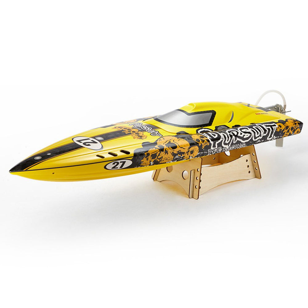 TFL 1106D2 RC Electric Boat Pursuit Racing Boat 3660/2070KV Motor 120A ESC RC Model Boat (ARTR) - Overall Power Anti-Capsize Version - enginediy