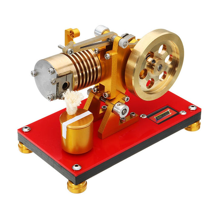 SaiHu SH-05 Vacuum Engine Fame Eater Engine 2000RPM Flame Licker Engine Model Educational Toy - enginediy