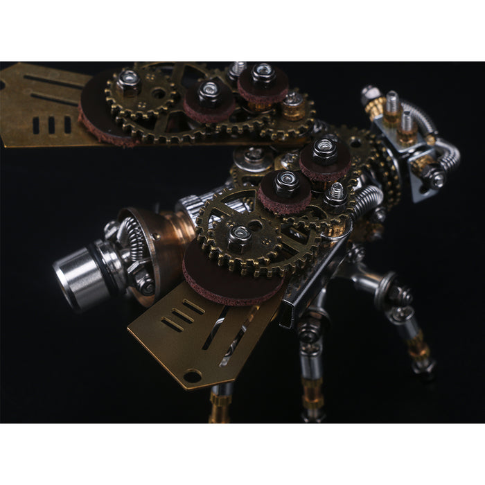 3D Puzzle Model Kit Mechanical Firefly Metal Games DIY Assembly Jigsaw Crafts Creative Gift - 295Pcs - enginediy