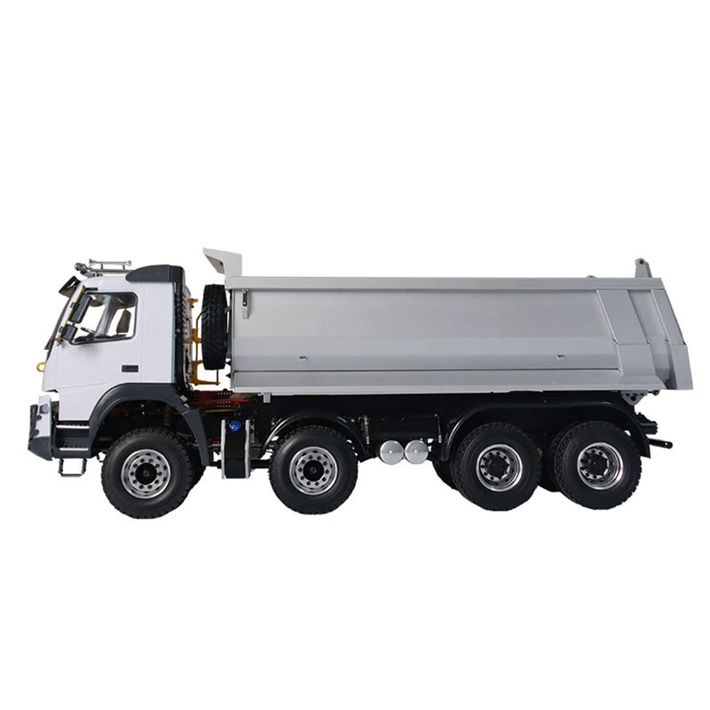 JDMODEL JDM-65 1/14 8x8 Electric RC Heavy Hydraulic Dump Truck Remote Control Construction Vehicle Model - enginediy