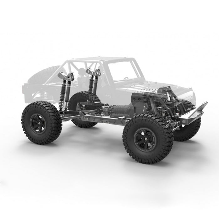 Capo JKMAX 1/10 All Metal DIY RC Simulated Crawler Car Off-road Vehicle Model - KIT Version (No Electronic Devices) - enginediy