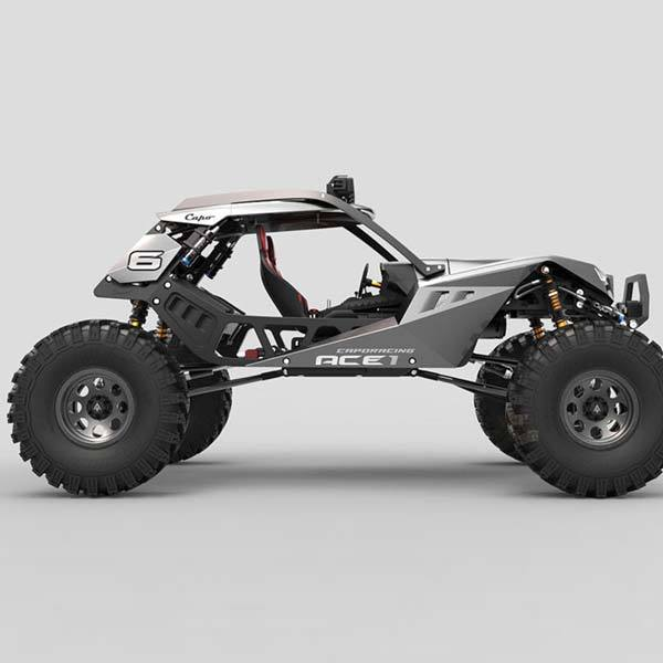 Capo ACE1 Kit Rock Crawler 1/10 RC Car Assembly Kit - Enginediy - enginediy