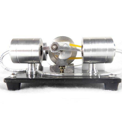 DIY Assembly Steam Engine Kit Model Science Experiment with Electric Generator - enginediy