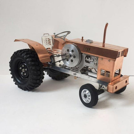 enginediy Engine Models Stirling Engine Tractor Stirling Powered Tractor Engine Ideal Gift for Collection - Enginediy