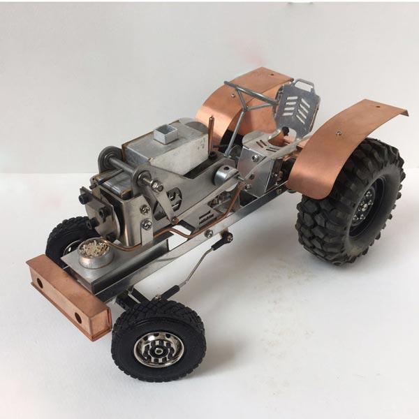 Stirling Engine Kit Tractor Vacuum Engine Motor Model for Gift Collection - Enginediy - enginediy
