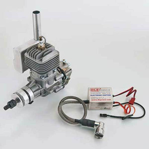enginediy RC Engine DLE Engines DLE 20CC Gas Engine with Electronic Ignition and Mufflers