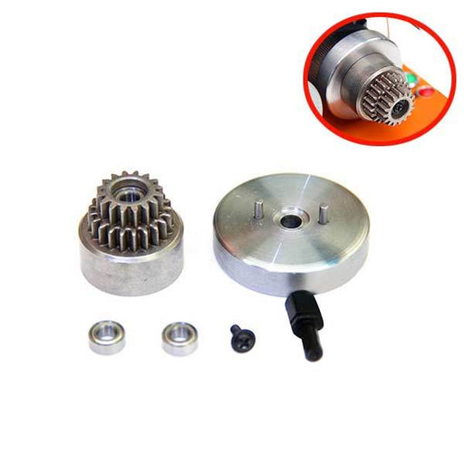 enginediy Double Gear Clutch Flywheel Modified Kit for Toyan Engine FS-S100 FS-S100G FS-S100(W)FS-S100G(W)