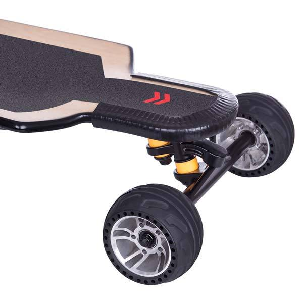 enginediy ELECTRIC SKATEBOARD Electric Skateboard BRT-01 FOCBOX UNITY VESC6.0 ALL-TERRAIN LONGBOARD with Fast Charger