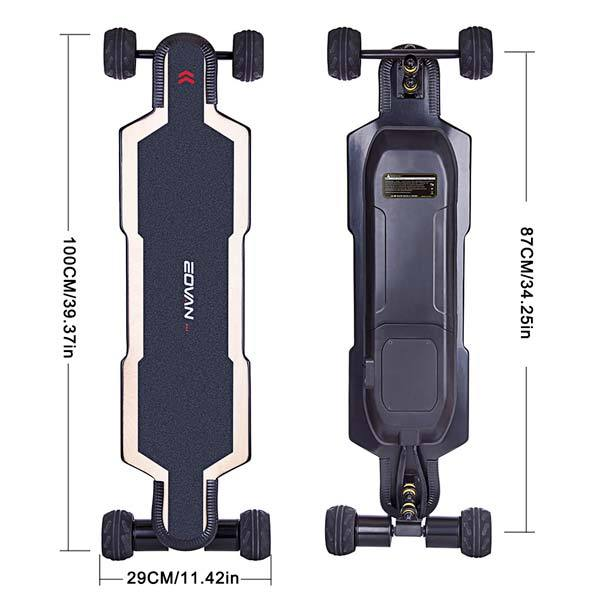 enginediy ELECTRIC SKATEBOARD ESC 6.0 Electric Skateboard BRT-02 Direct Drive Electric Longboard with 90 Days Warranty